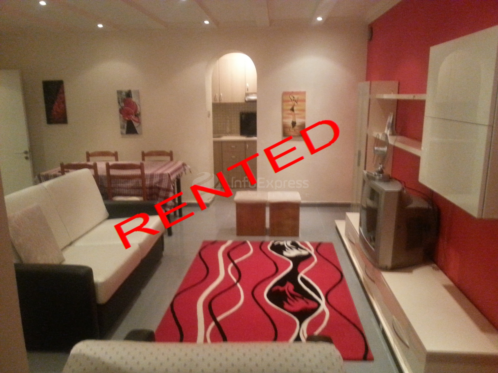 TRR-615-118 Apartament 1+1 me qera mbrapa gjimnazit Sami Frasheri