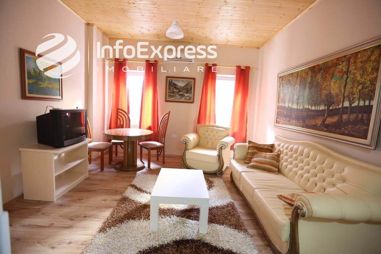 TRR-0618-1006 Jepet me qera apartament 1+1 kati i dyte i nje vile ndodhet tek rruga Tefta Tashko prane sheshit Avni Rustemi.