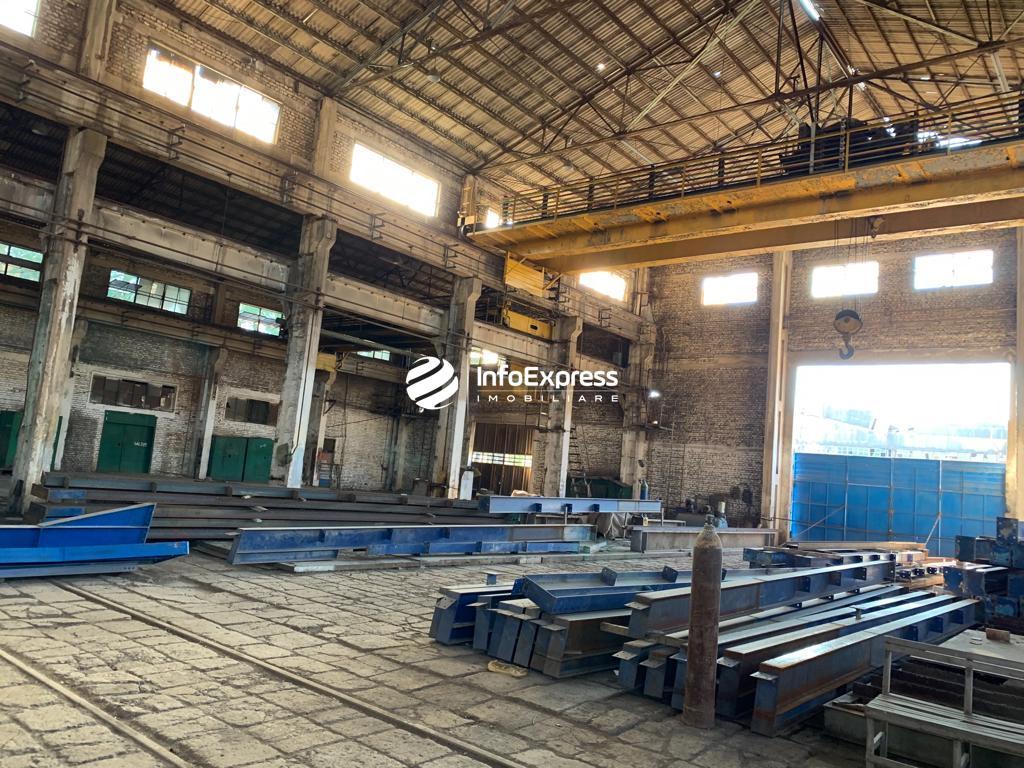 TRS-0419-1497 Shitet objekt industrial per prodhim konstruksionesh metalike ne ish kombinatin Metalurgjik,Elbasan.