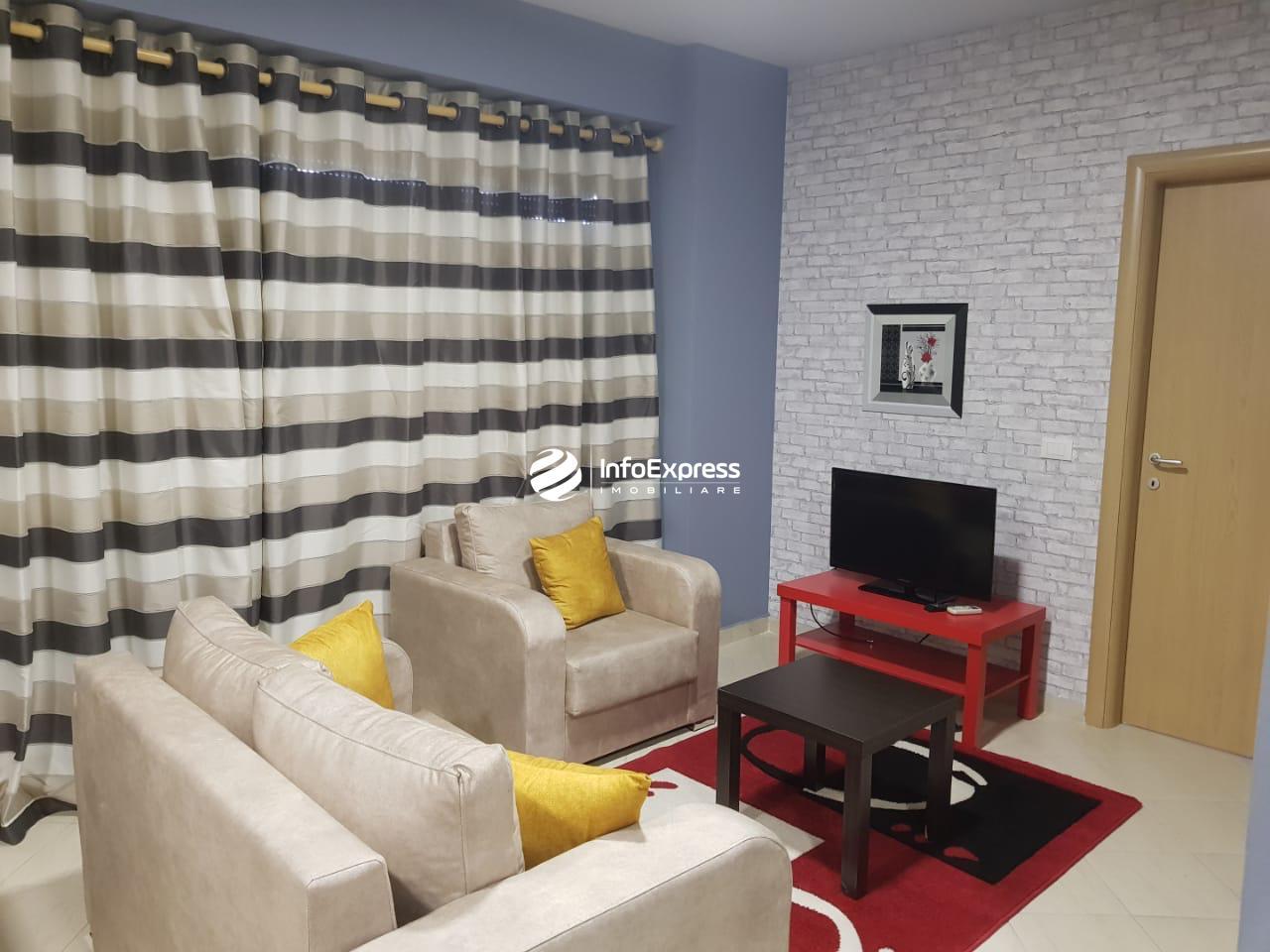 TRR-0419-1515 Jepet me qera apartament 1+1 ndodhet te rruga Kavajes.