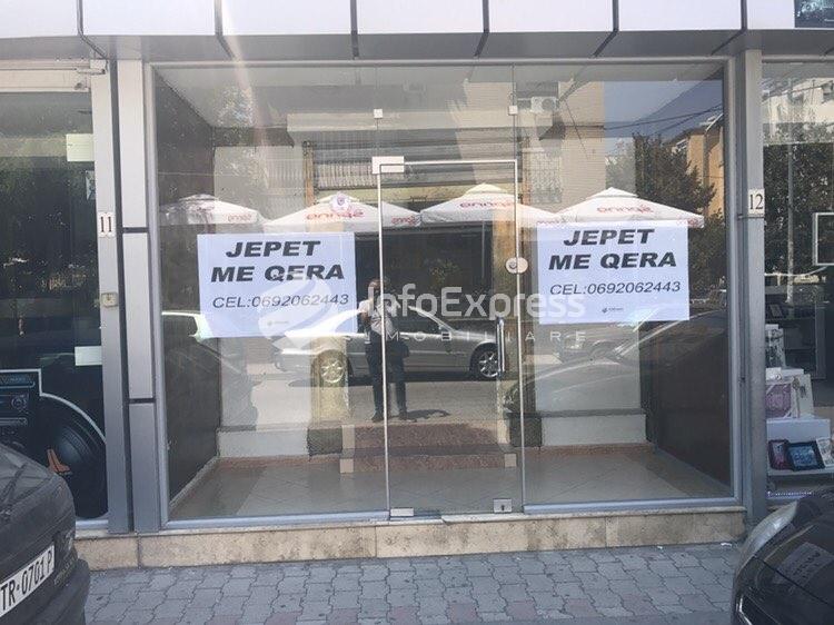 TRR-715-180 Dyqan me qera prane rruges Myslym Shyri