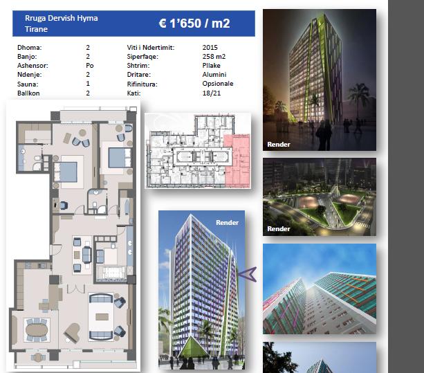 TRS-616-481 Apartament 2+1 ne shitje tek Ambasador 3