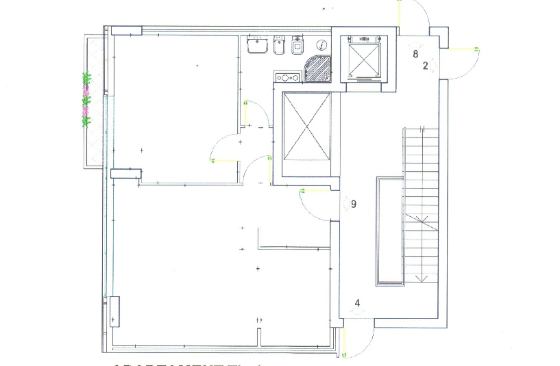 TRS-416-458 Apartament 1+1 ne shitje tek ETC